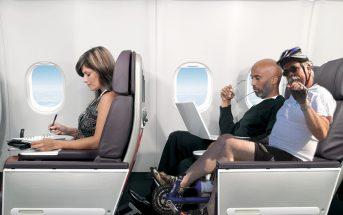 Οι επιβάτες που θα επιλέξουν το συγκεκριμένο πρόγραμμα θα κάθονται σε ειδικά διαμορφωμένες θέσεις με πετάλια
