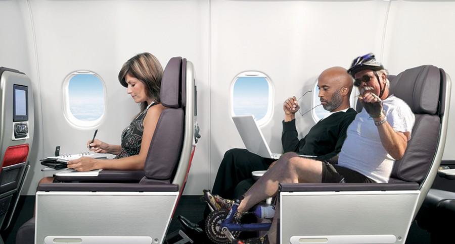 Οι επιβάτες που θα επιλέξουν το συγκεκριμένο εισιτήριο θα κάθονται σε ειδικά διαμορφωμένες θέσεις με πετάλια