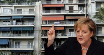Να μπει διαχειρίστρια στις ελληνικές πολυκατοικίες ζητάει τώρα η Άνγκελα Μέρκελ