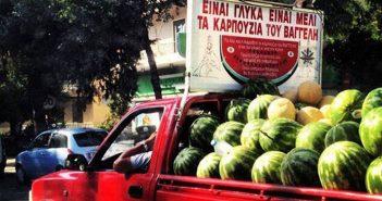 Ο πενηντάχρονος πωλητής καρπουζιών συνελήφθη στο πλαίσιο συντονισμένης επιχείρησης της Αστυνομίας