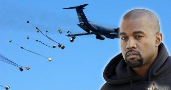 Ο τραγουδιστής έχει έρθει σε επαφή με ανθρωπιστικές οργανώσεις, με στόχο να πραγματοποιήσει ρίψη παπουτσιών με C-130