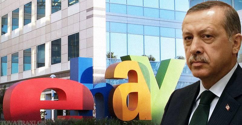 Ο Τούρκος ηγέτης υποστηρίζει ότι το eBay «καπηλεύεται» την τουρκική κουλτούρα
