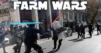 Farm Wars: Όλα όσα έγιναν στις κινητοποιήσεις των αγροτών στην Αθήνα