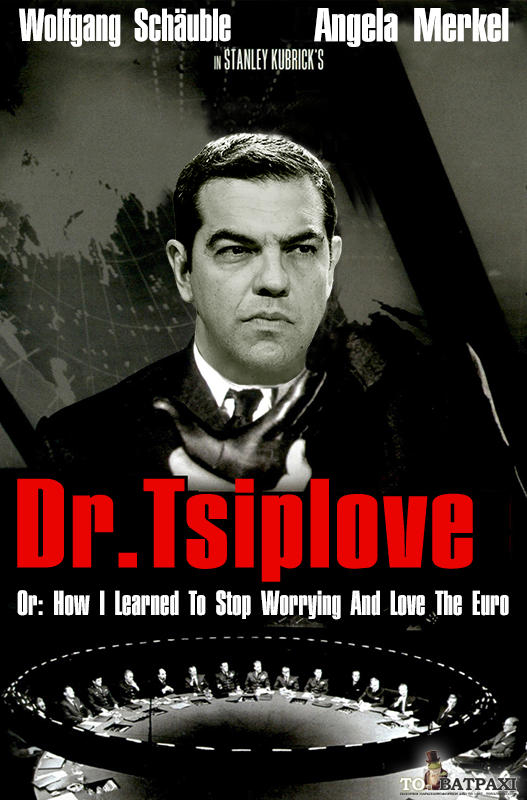 Ξαναγυρίζεται το Dr. Strangelove μετά την ανακήρυξη του Αλέξη Τσίπρα σε διδάκτορα πανεπιστημίου (ΦΩΤΟ)