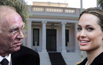 Οικουμενική κυβέρνηση με πρωθυπουργό την Αντζελίνα Τζολί ζήτησε ο Βασίλης Λεβέντης