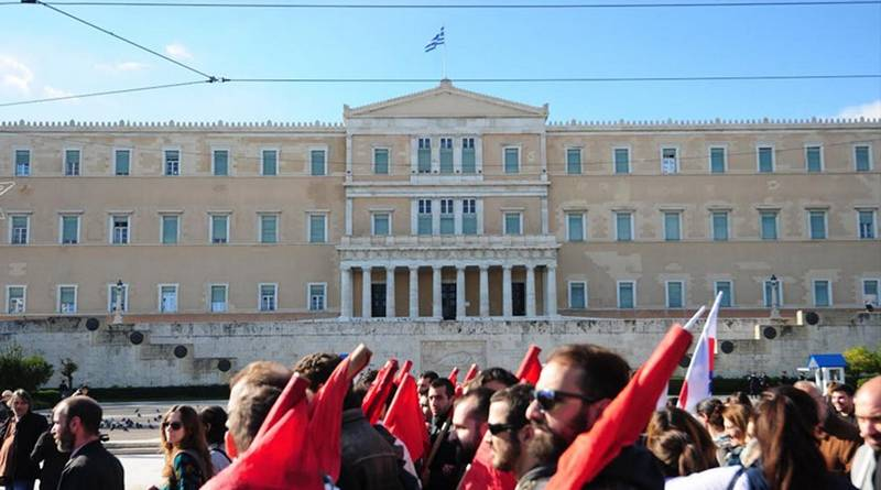 Με την παρέλαση διορισμένων του ΣΥΡΙΖΑ ολοκληρώθηκε η μεγάλη στρατιωτική παρέλαση της Αθήνας