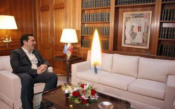 Ο πρωθυπουργός ενημέρωσε το την άσβεστη φλόγα της Ορθοδοξίας για τις πρόσφατες εξελίξεις στις διαπραγματεύσεις