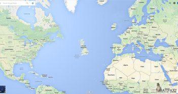 Στη μέση του Ατλαντικού θεάθηκε να πλέει σήμερα το πρωί η Αγγλία