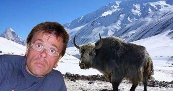 Ο παρουσιαστής παραδέχτηκε πως δεν είναι σίγουρος πως βρέθηκε στα χιονισμένα βουνά του Νεπάλ