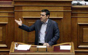 Την πρόσληψη 10 χιλιάδων δημοσίων υπαλλήλων στη μνήμη του Ανδρέα Παπανδρέου ανακοίνωσε ο Αλέξης Τσίπρας