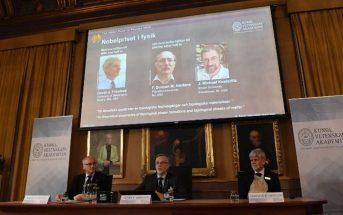 Σε ομάδα επιστημόνων που κατάφερε να ξεμπλέξει ακουστικά κινητού απονεμήθηκε το Νόμπελ Φυσικής