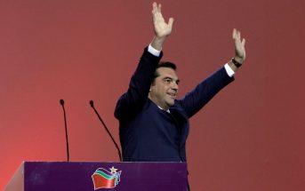 Απρόσμενη νίκη του Αλέξη Τσίπρα στις εκλογές του ΣΥΡΙΖΑ