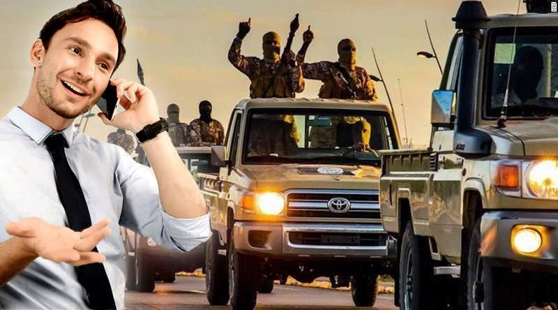 Με υπαλλήλους τελεμάρκετινγκ σχεδιάζει αντεπίθεση το ISIS στο Ιράκ