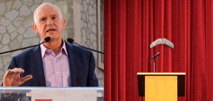 Την ανεξαρτητοποίηση του ανακοίνωσε το μουστάκι του Γιώργου Παπανδρέου