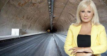 Η Αγγελική Νικολούλη θα εγκαινιάσει τη νέα σήραγγα στα Τέμπη