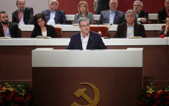 Αναπάντεχη επανεκλογή του Δημήτρη Κουτσούμπα στην ηγεσία του ΚΚΕ