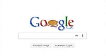 Τον Άγιο Φανούριο τίμησε με το σημερινό λογότυπο της η Google