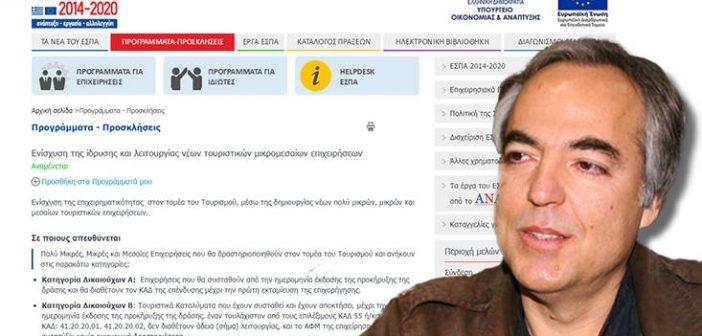 Αίτηση για επιδότηση ΕΣΠΑ υπέβαλε ο Δημήτρης Κουφοντίνας