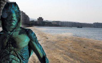 """Θεσσαλονικιός που έπεσε στο Θερμαϊκό ο μεταλλαγμένος πρωταγωνιστής της ταινίας """"Η Μορφή Του Νερού"""""""