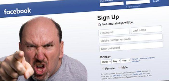 Νοσταλγία για ένα καθεστώς που θα του απαγόρευε να γράφει στο Facebook εξέφρασε χρήστης του Facebook