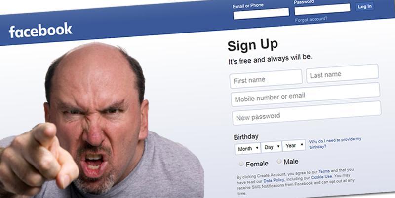 Τη νοσταλγία του για ένα καθεστώς που θα του απαγόρευε να γράφει στο Facebook εξέφρασε χρήστης του Facebook