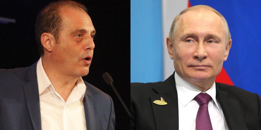 Βελόπουλος: «Έχω στα χέρια μου τη μυστική συνταγή του Πούτιν για ρώσικη σαλάτα»