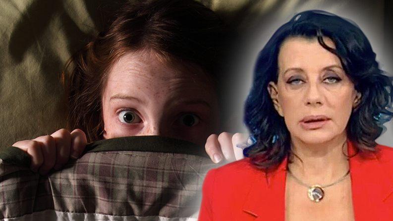 ΕΡΕΥΝΑ: Τρία στα πέντε Ελληνόπουλα φοβούνται ότι κάτω από το κρεβάτι τους βρίσκεται η Κατερίνα Ακριβοπούλου