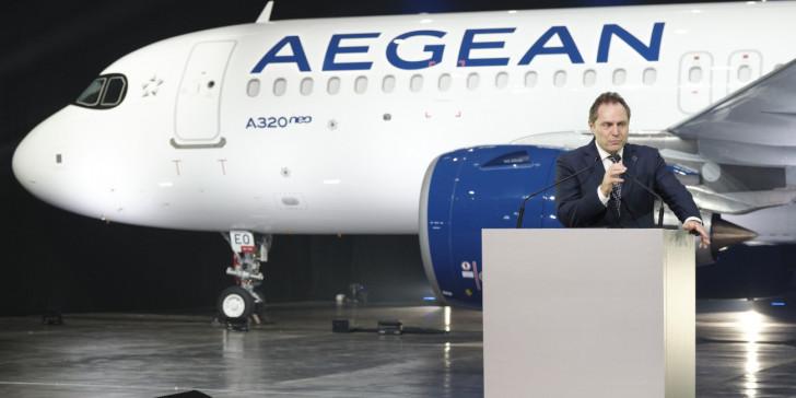 Αυτόματο σύστημα χειροκροτήματος κατά την προσγείωση περιλαμβάνουν τα νέα αεροσκάφη της Aegean